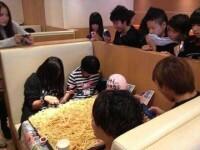 13.000 de calorii la o singura masa la McDonald's. Ce au mancat acesti elevi japonezi