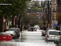 Spectacolul vietii in mijlocul uraganului Sandy. Povestea Christinei, insarcinata in 35 de saptamani