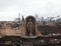 Fotografia emotionanta din mijlocul dezastrului. Simbolul sperantei in fata uraganului Sandy