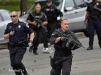 Focuri de arma in fata Congresului Statelor Unite. Un politist a fost ranit in timpul incidentului