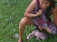 O femeie din Mexic a nascut pe iarba in curtea spitalului dupa ce medicii au lasat-o sa astepte