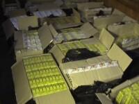 Scafandrul contrabandist. 40.000 de pachete de tigari, capturate de politistii din Sighetu Marmatiei