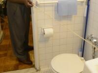 Un barbat din Statele Unite traieste o adevarata drama dupa ce vasul de toaleta i-a explodat in fata