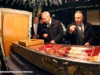 Dragnea, la moastele Sfintei Parascheva: M-am rugat pentru cei care au gandit rau cu dosarul ala