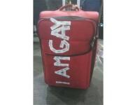O companie aviatica,obligata sa-si ceara scuze public dupa ce un pasager s-a trezit cu asta pe bagaj