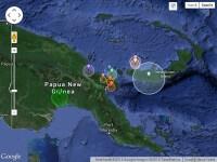 Inca un cutremur mare inregistrat in lume. Seism cu magnitudinea de 7,1 in Papua Noua Guinee