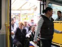 Timisorenii pot testa de azi autobuzul electric! Sunt invitati sa-si spuna parerea in mediul online