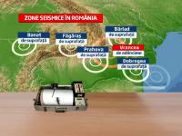 Harta zonelor seismice din Romania. Cum explica specialistii cel mai recent cutremur din Prahova