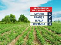 100 mil EUR pentru cei care vor sa cultive bio in Romania, a patra tara pe harta ecologica a Europei