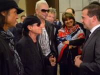 Premierul Rusiei, Dmitri Medvedev, este fan Scorpions