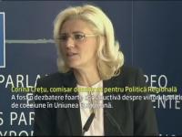 Corina Cretu a primit avizul comisiei de specialitate, dupa audierea din Parlamentul European. Discursul comisarului desemnat