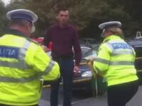 Barbatul beat care a intrat intentionat cu masina intr-un politist, arestat preventiv pentru tentativa de omor