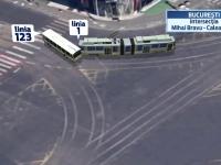 Filmul accidentului soldat cu 11 raniti dupa ce un tramvai si un autobuz s-au ciocnit in Capitala. Ce sustin cei implicati