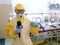 18 romani intorsi de langa focare de Ebola, monitorizati 21 de zile. Cristina Jurca a testat echipamentele de protectie
