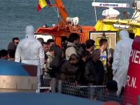 Cei 88 de refugiati arabi salvati din apele Marii Negre au fost investigati de medici. Niciunul nu este bolnav de Ebola