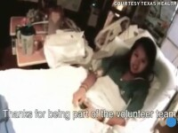 Nina Pham, asistenta medicala din SUA care s-a vindecat de Ebola, si-a revazut cainele