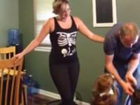 Cum si-a anuntat sotul ca asteapa un copil. Imaginile au ajuns pe YouTube. VIDEO