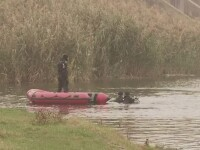 A anuntat la 112 ca si-a omorat prietenul, dupa ce l-a impins in lacul Pantelimon. Ce au vazut politistii pe camere