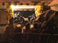 Sute de credinciosi au stat la coada sa se roage la moastele Sfantului Dimitrie, desi in Bucuresti erau zero grade Celsius