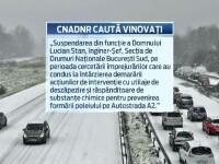 Autostrada Soarelui, blocata timp de 4 ore dupa prima zapada din acest sezon in Sud. Autoritatile au gasit un singur vinovat