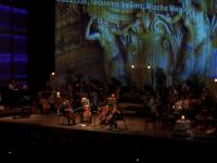 Moment de improvizatie la Bianualul Violoncelului din Amsterdam. Patru artisti au cantat o piesa ACDC