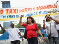 Rio de Janeiro este primul oras din Brazilia care a interzis serviciile de taximetrie Uber.