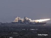Rusia a lansat atacuri in Siria din Marea Caspica. Crucisatoarele au distrus 11 tinte, sustine ministrul rus al Apararii