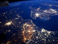 Cele mai spectaculoase imagini cu Pamantul, publicate pe Instagram de un astronaut. Cum se vede rasaritul soarelui din spatiu