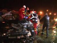 Misiune contracronometru pentru salvarea unui șofer încarcerat, lângă Cluj