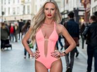 O moldoveanca participa la Miss Bikini Irlanda. Detaliul pe care nimeni nu l-a observat din prima cand tanara a pozat topless