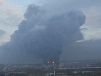 Incendiu urias in Sankt Petersburg. Peste 200 de pompieri s-au chinuit sa stinga flacarile