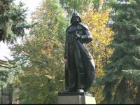 Lenin, transformat in Darth Vader, pentru