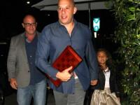 Vin Diesel are cu ce se mandri. Cum arata la 7 ani micuta Hania, alaturi de tatal sau celebru FOTO