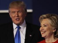 Efectele primei dezbateri prezidentiale din SUA. Clinton l-a devansat in sondaje pe Trump. Ce opinii au americanii