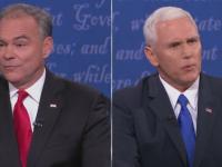 Atacuri si insulte in prima dezbatere a potentialilor vicepresedinti ai SUA. Tim Kaine l-a numit pe Trump