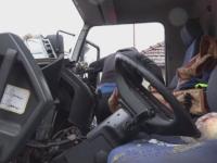 Parapetul montat pe mijlocul drumului in Sangeorgiu de Mures face din nou victime. Tanar de 24 de ani, ranit grav