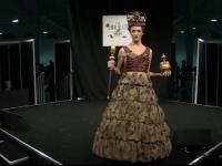 Parada creatiilor vestimentare dulci, atractie la Salonul international al ciocolatei. Cine a fost regina prezentarii