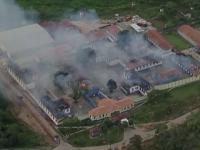 55 de detinuti au evadat dintr-o inchisoare din Brazilia, dupa ce au incendiat o aripa a cladirii