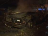 Politistii au arestat un piroman care a incendiat 7 masini in Bucuresti. Omul spune ca voia sa faca