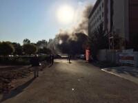 Explozie la Camera de Comert si Industrie din Antalya. Mai multe persoane au fost ranite