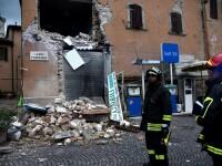 Doua cutremure puternice in Italia, in decurs de 24 de ore. Zeci de persoane au fost ranite