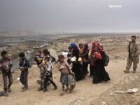 232 de persoane, executate de Statul Islamic in Mosul. Statul Islamic foloseste femei si copii ca scuturi umane