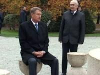 Iohannis a explicat motivul pentru care s-a asezat la Masa Tacerii: