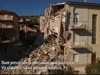 Italienii au fost avertizati cu 24 de ore inainte ca urmeaza un cutremur mare: