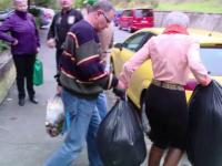 Locatarii unui bloc din Brașov au avut o zi la dispoziție pentru a-și părăsi casele