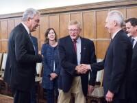 Ambasadorul SUA, discuţie cu premierul Tudose. Au participat şi congresmeni americani