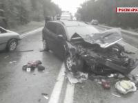 Accident grav pe DN65, soldat cu 2 morți. Șoferul vinovat consumase alcool