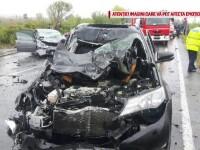 Accident cu un mort și 14 răniți în Ialomița. Din ce cauză s-ar fi produs tragedia