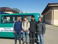 Patru migranţi irakieni s-au ascuns într-un canal imediat ce au ajuns în România