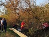 Două persoane au murit şi alte două au fost rănite grav, într-un accident între Arad și Timișoara